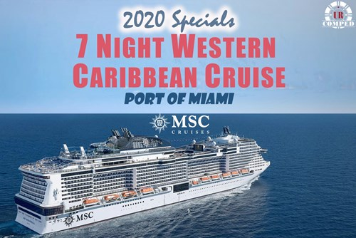 Comp offers at MSC Cruises