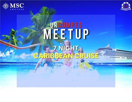 URComped Meetup at Sea - 7 Night Caribbean Cruise!