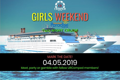 "URComped ""Girls Weekend"" Trip! - 2 Night Cruise from Palm Beach!!!"