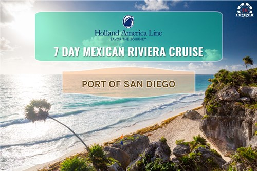 7 Day Mexican Riviera out of San Diego