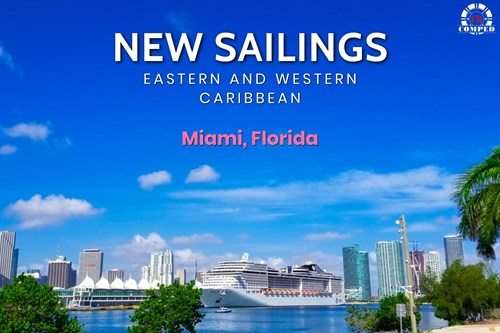 New Miami Sailings to Eastern and Western Caribbean!