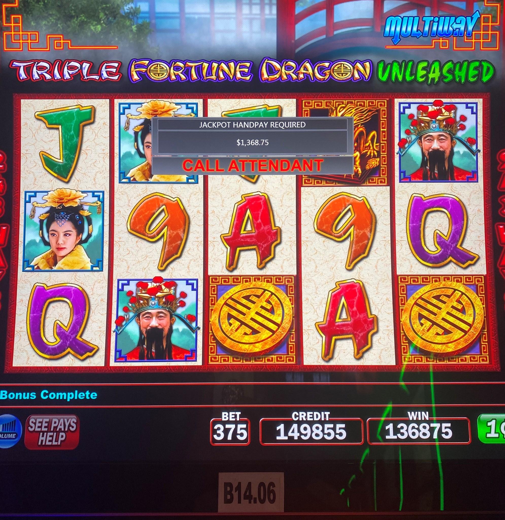 Free Casino Triple Fortune Dragon Slot Machine