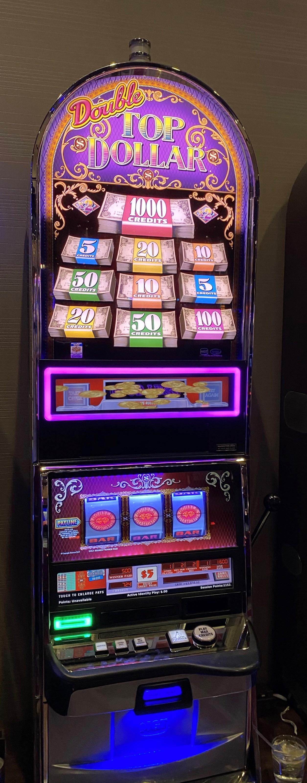 Igt Slot Machine Not Reading Dollars