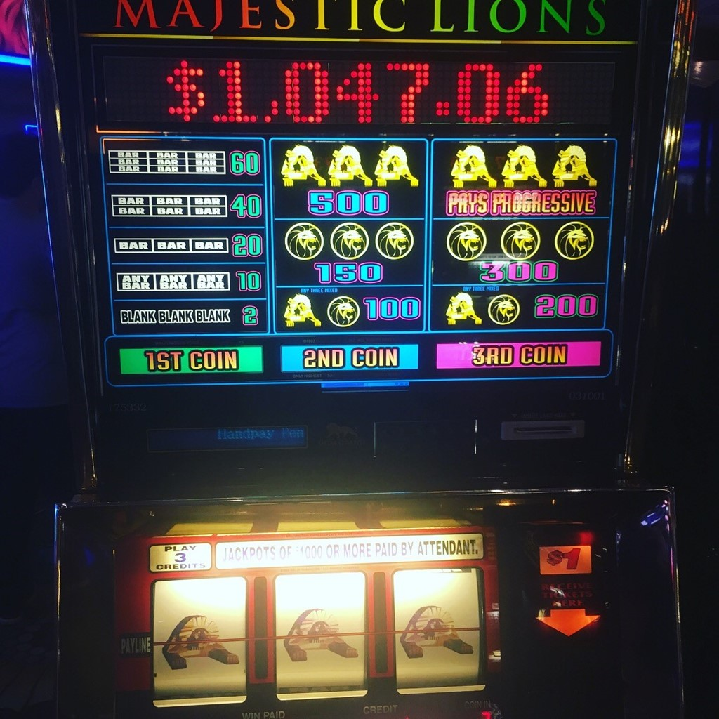 Slot Machines At MGM Grand Las Vegas Casino
