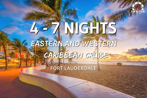 New Fort Lauderdale Sailings to Eastern and Western Caribbean!