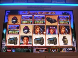 Beverly Hillbillies Millionaire Mile slot machine