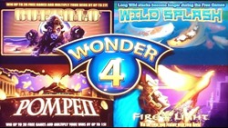 Wonder 4 slot machine