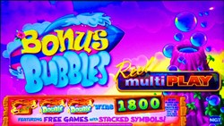 Bonus Bubbles slot machine