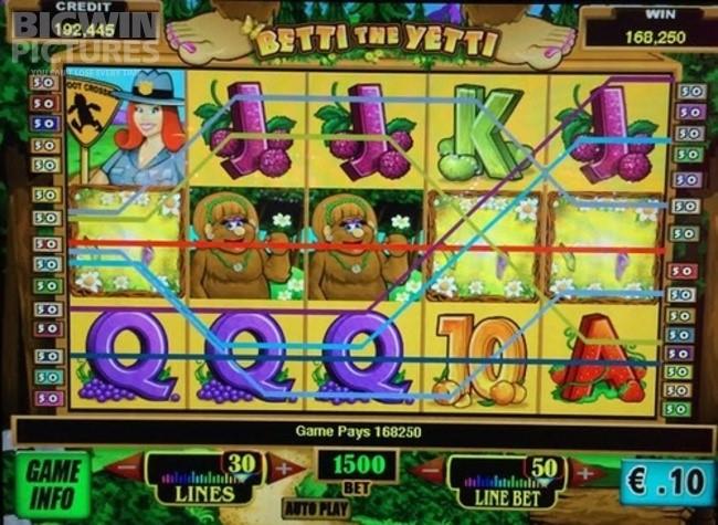 Free Betti The Yetti Slot Machine Game