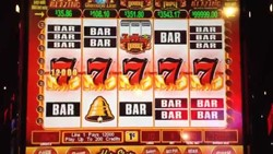 Blazing 7 Hot Shot-15R slot machine