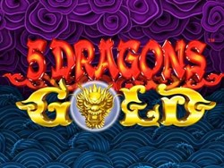 5 Dragons Gold slot machine
