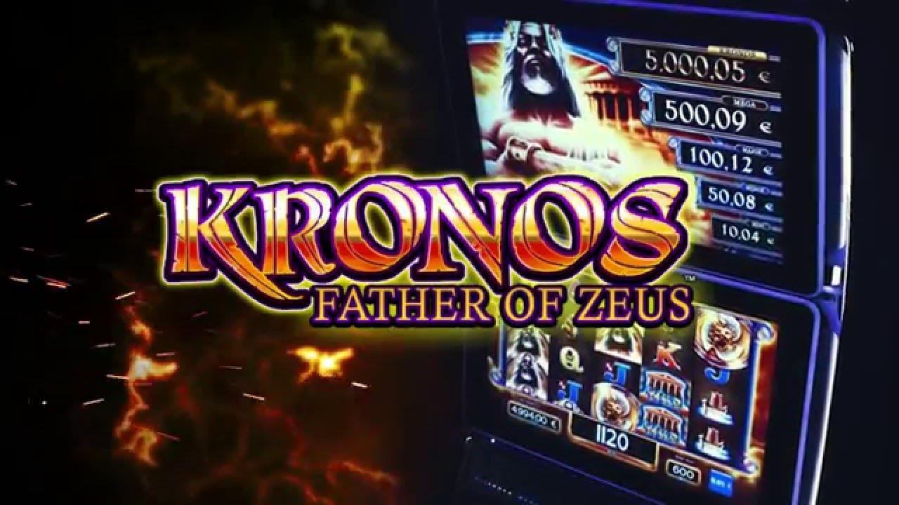 Kronos Father Of Zeus Slot Machine By Scientific Games