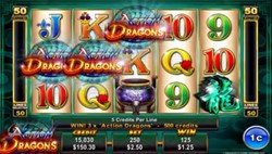 Action Dragons slot machine