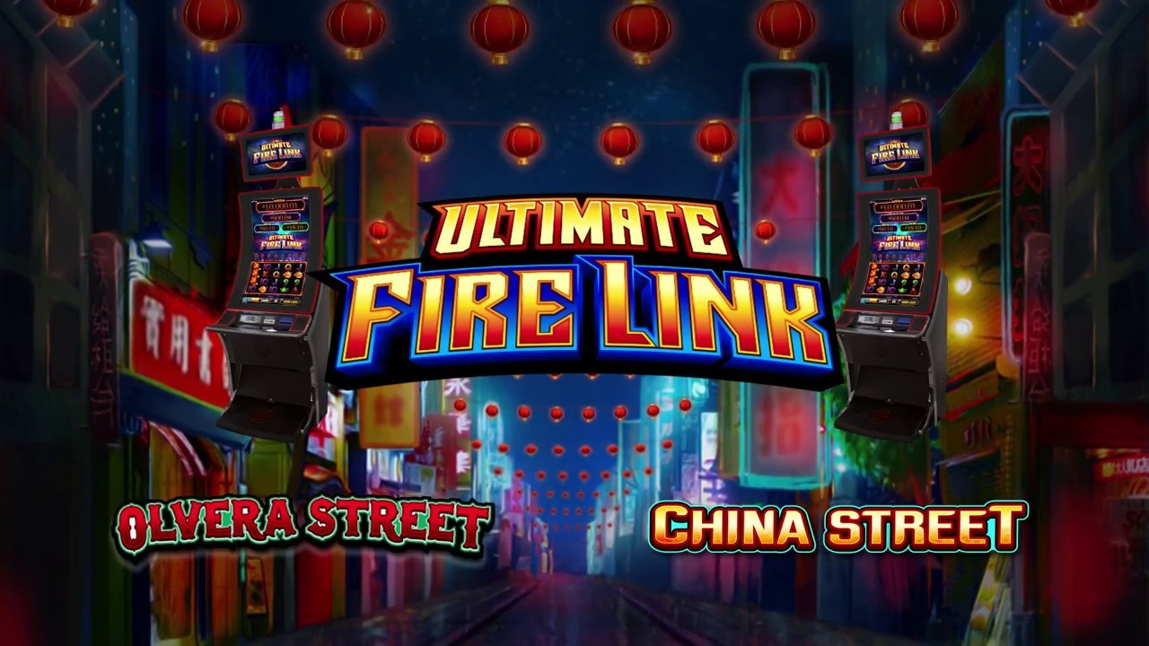 Ultimate Fire Link Slot Machine By Bally Technologies