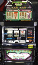 Triple Diamond Deluxe slot machine