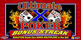 Ultimate X Bonus Streak Poker image