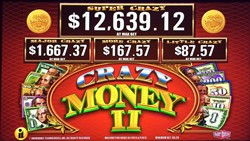 Crazy Money II slot machine