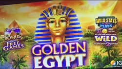 Golden Egypt slot machine