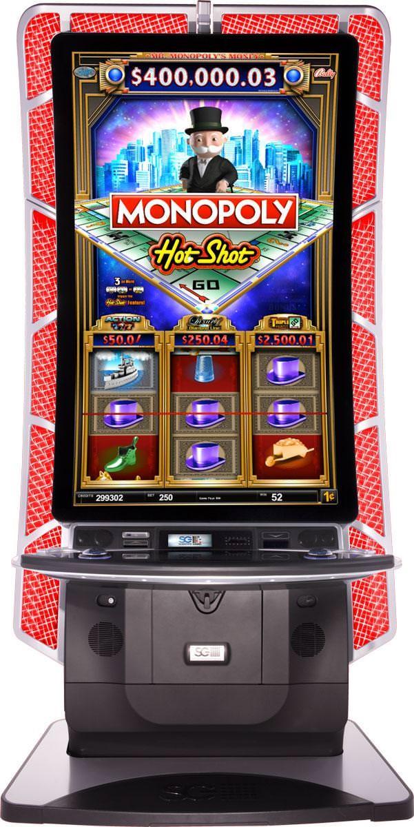 Slot machine hot shot