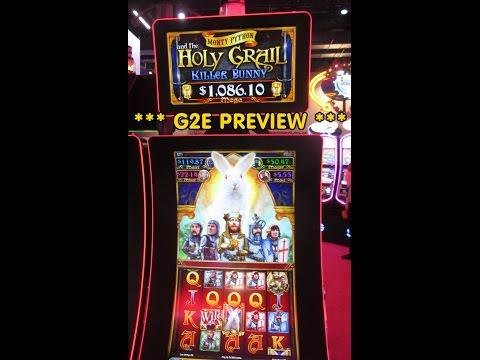 Monty Python and the Holy Grail Killer Bunny Slot Machine by SG gaming