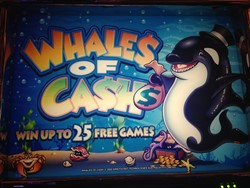 Whales of Cash Legends slot machine