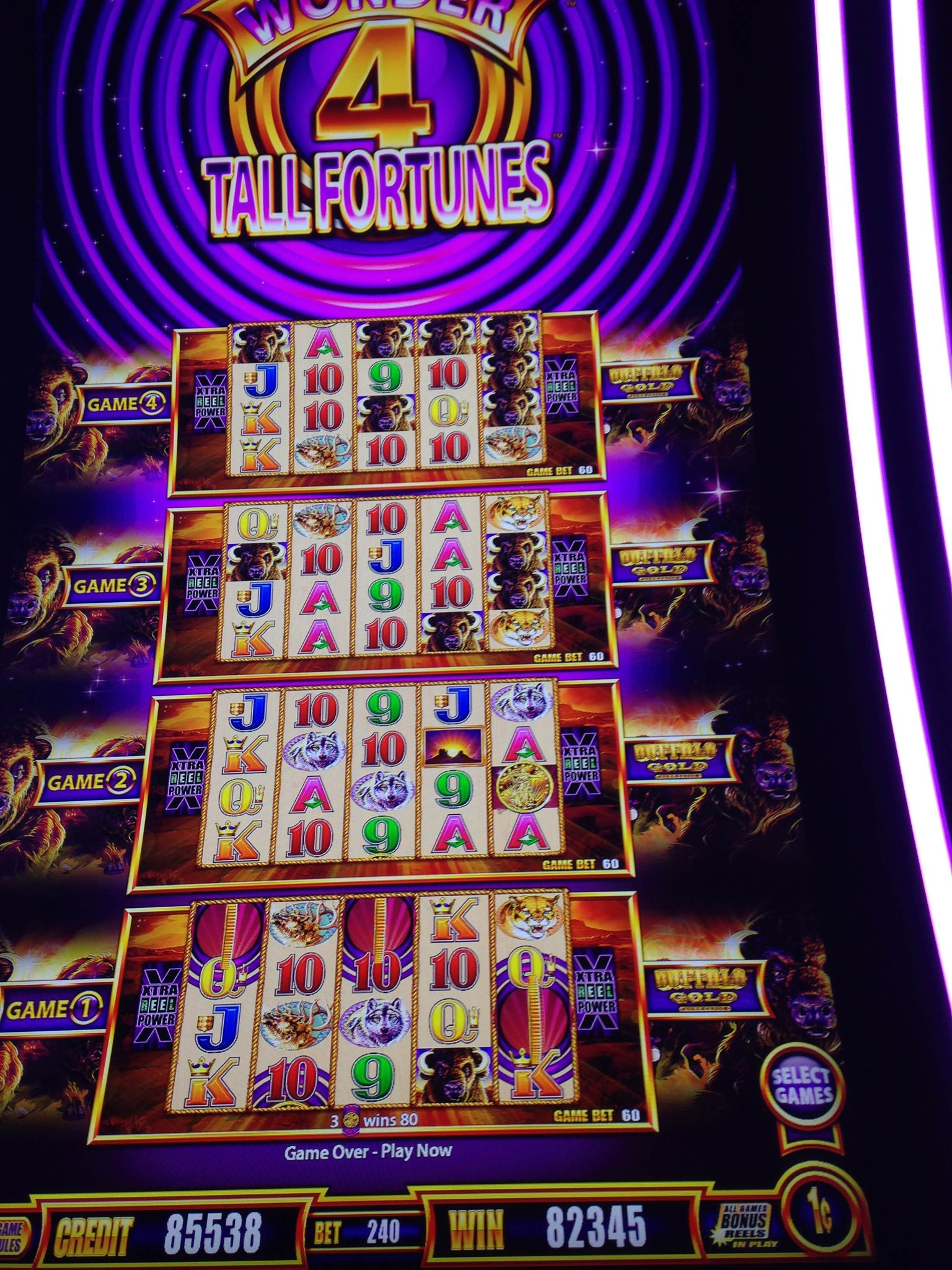 Wonder 4 Tall Fortune image