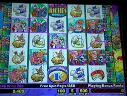 Golden Goddess/Stinkin Rich slot machine