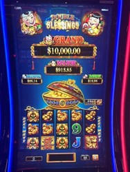 Double Blessings slot machine