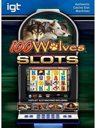 100 Wolves slot machine