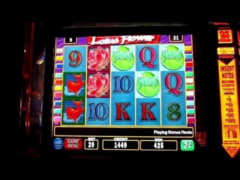 Lotus Flower Slot Machine By Igt