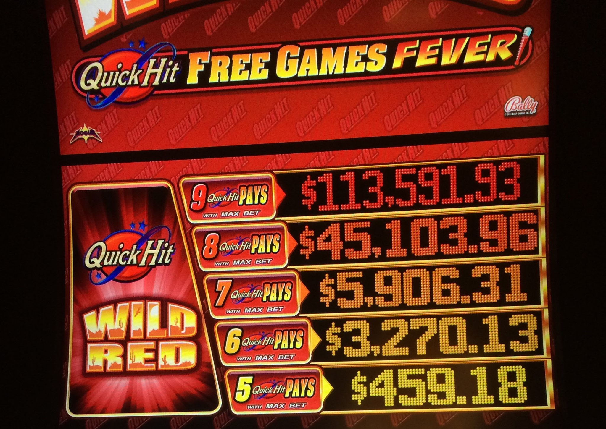 Quick Hit Slot Games Free