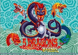 5 Dragons Legends slot machine