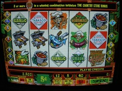 Tabasco slot machine