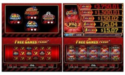 Quick Hit Triple Blazing 7S Free Games Fever slot machine