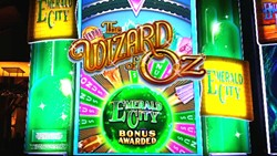 Wizard Of Oz-Emerald City slot machine