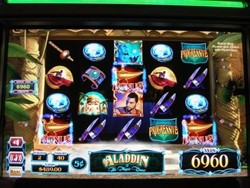 Aladdin And The Magic Quest slot machine