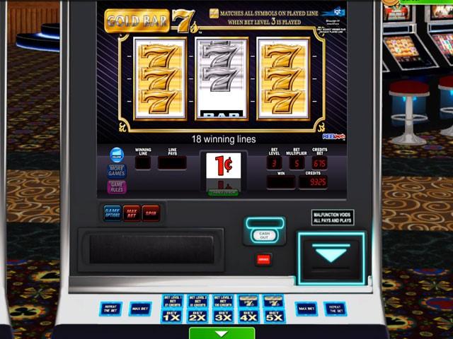 Golden Sevens Slot Machine