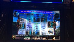 Avatar slot machine