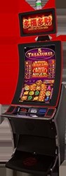 5 Treasures slot machine