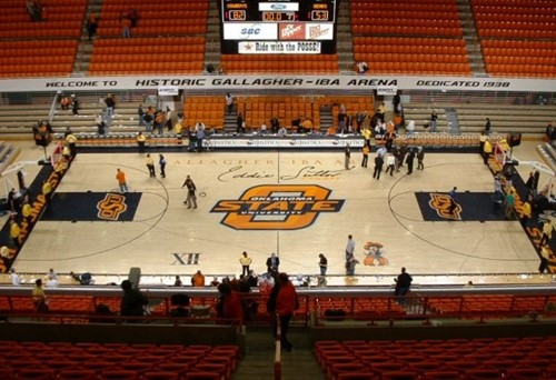 Gallagher-Iba Arena image